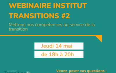 Webinaire Institut Transitions
