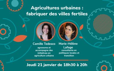 Webinaire Inspirations #10 – Agricultures urbaines