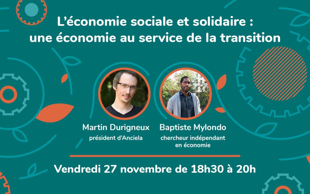 Webinaire Inspirations #2 – L'économie sociale et solidaire